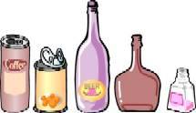空き缶、空き瓶