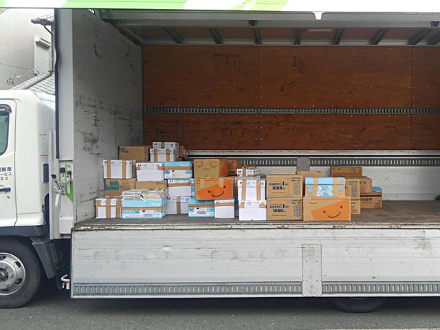 積込終了:124箱・1180kg