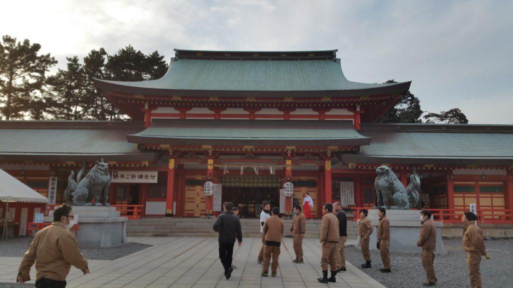 五社神社 安全祈願