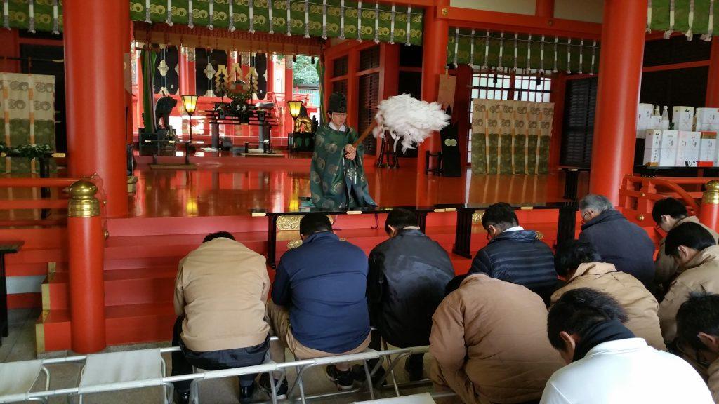 五社神社 安全祈願3