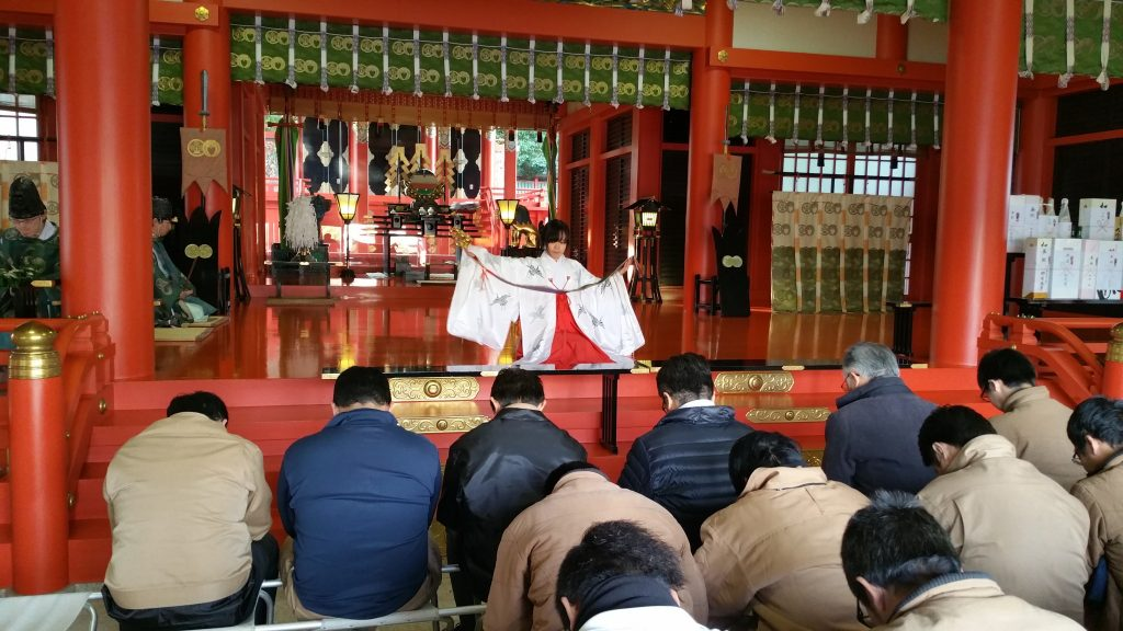 五社神社 安全祈願4