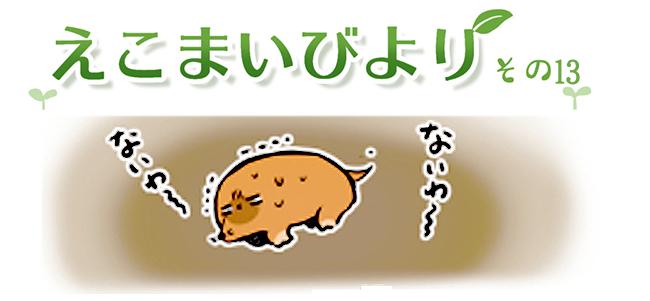 えこまいくまーの4コマ漫画 vol.13