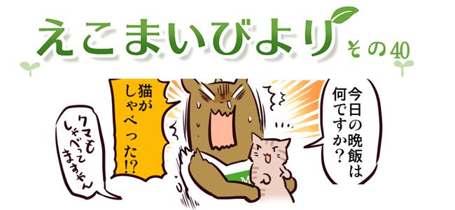 えこまいくまーの4コマ漫画 vol.40